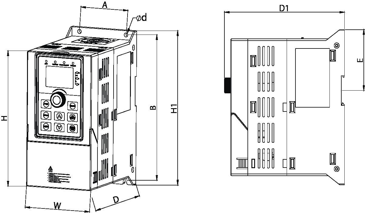 ST500 Maße