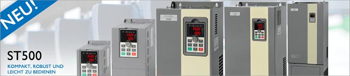 Neue Frequenzumrichter ST500