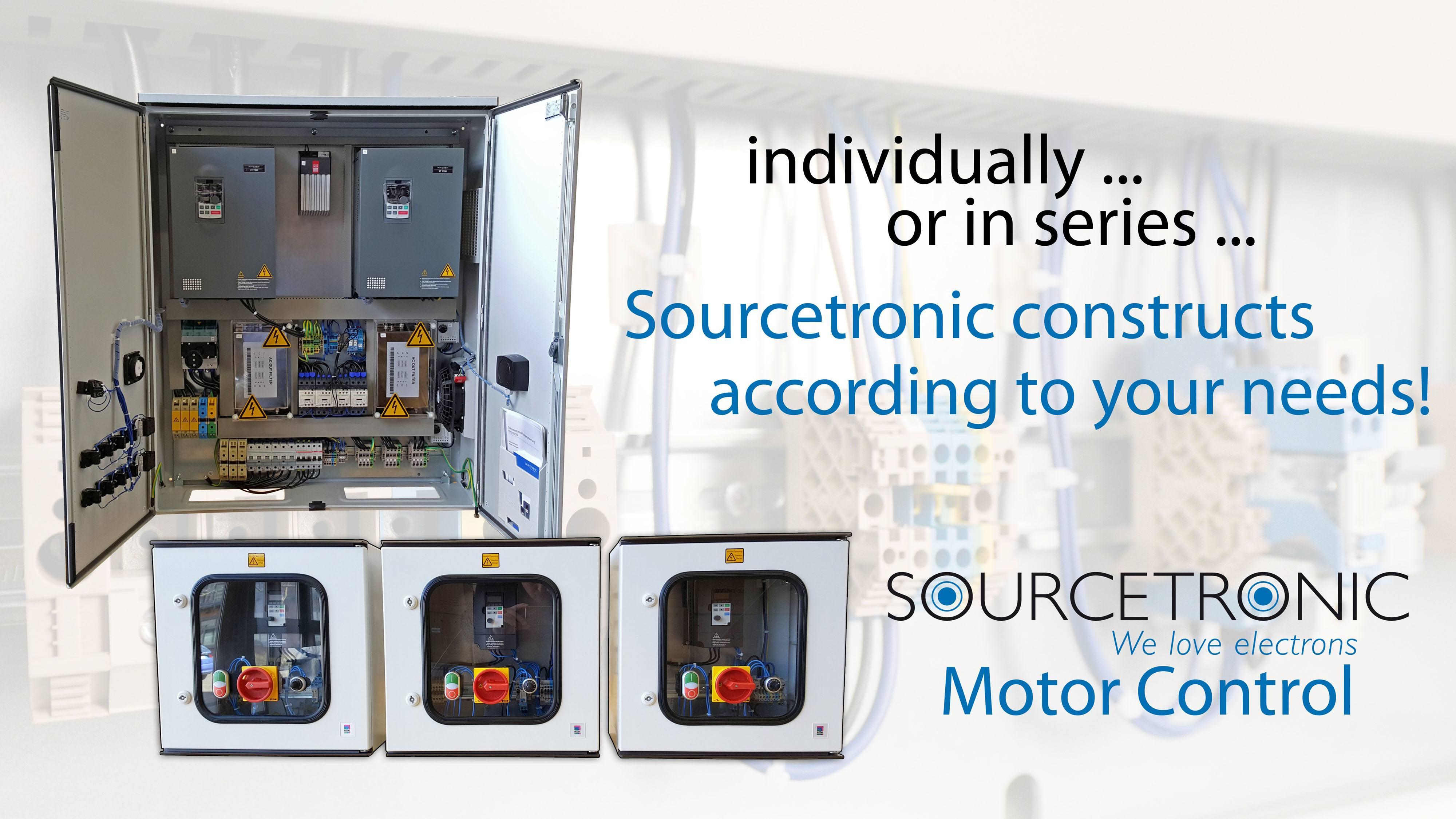 Motor control configurable