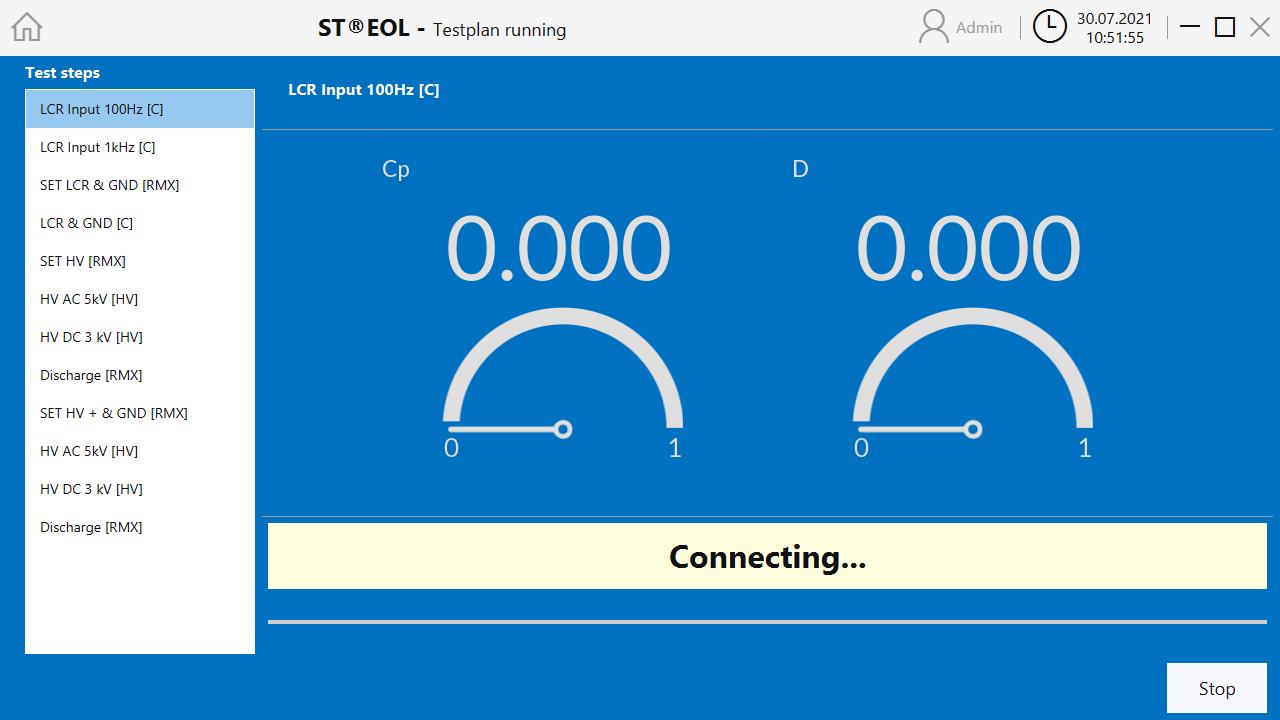 ST@EOL Verbindung herstellen