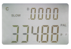 Handheld LCR Meter ST2822A Display