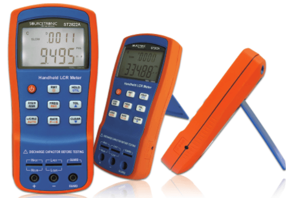 Handheld LCR Meter ST2822A Side