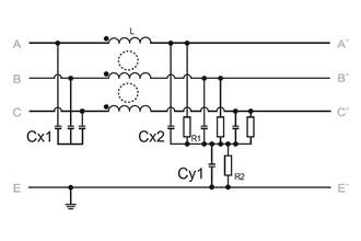 Esquema eléctrico típico 0007-0042