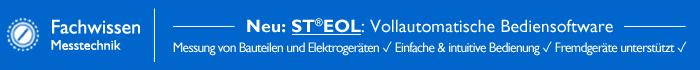 ST EOL Messtechnik Software