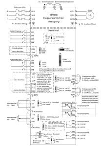 Verdrahtungsplan 11 bis 15KW