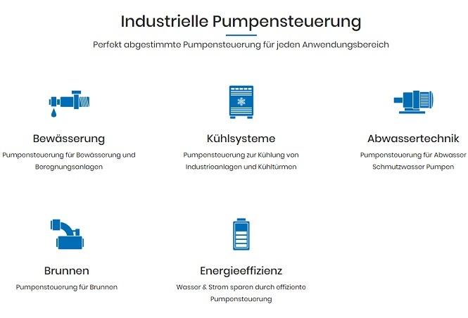 Pumpensteuerung Anwendungen